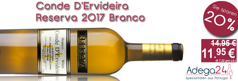 Angebot: Conde D'Ervideira Reserva branco 201
