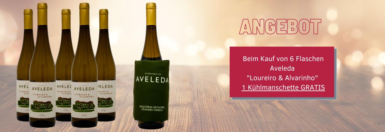 Angebot: Beim Kauf von 6 Flaschen Aveleda &am