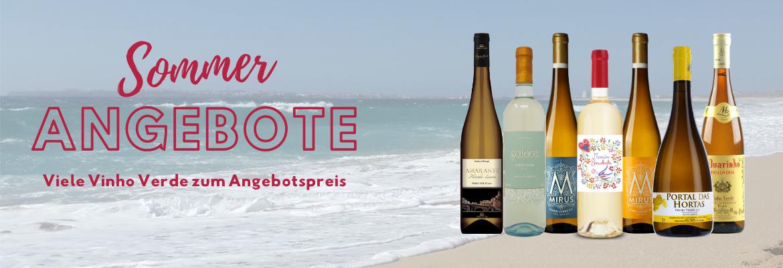 Sommer-Angebote: Viele Vinho Verde im Preis r